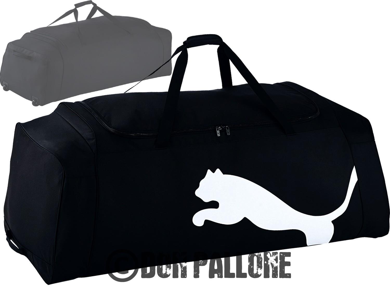 puma sport und reise tasche mit rollen gro 100l sporttasche team xxl wheel bag ebay. Black Bedroom Furniture Sets. Home Design Ideas