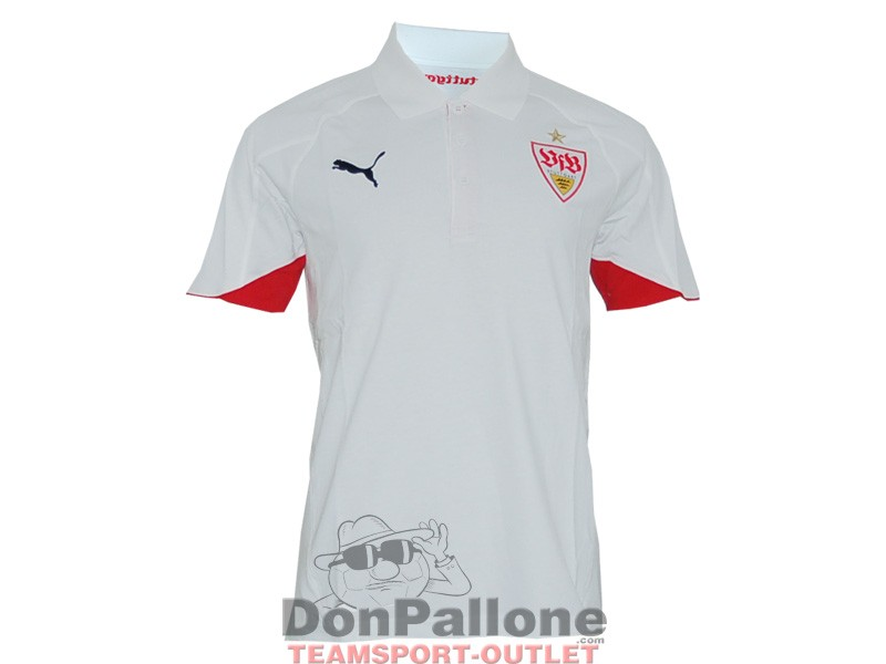 puma vfb stuttgart poloshirt fan shop fu ball vereine deutschland. Black Bedroom Furniture Sets. Home Design Ideas